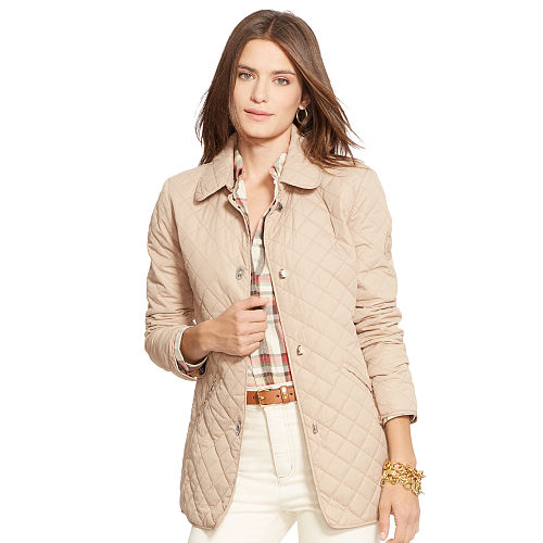 Quilted Turn Lock Jacket 81699526