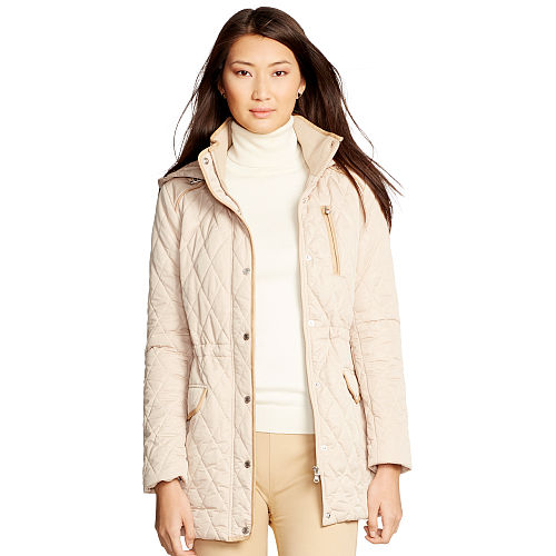 Quilted Hooded Jacket 86560356
