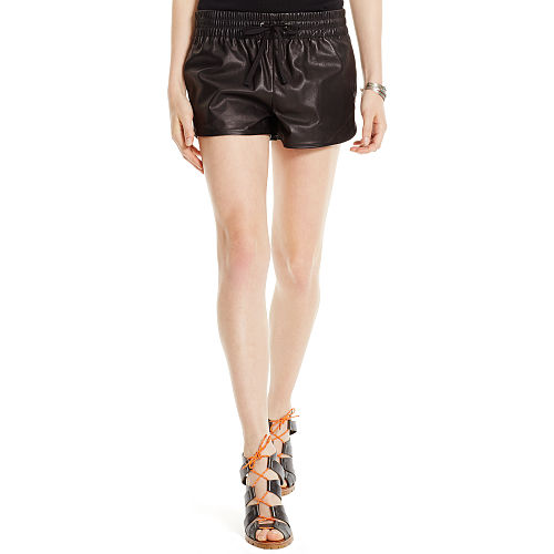 Leather Track Short 89235266