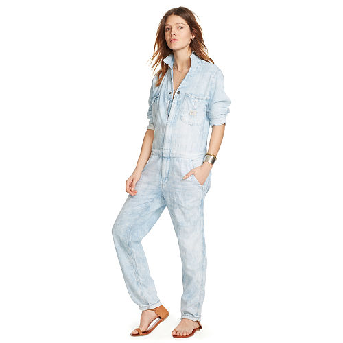 Cotton Linen Coverall 93459756