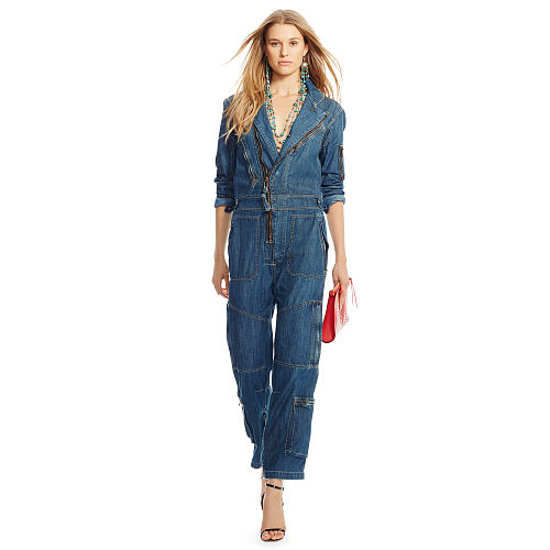 Denim Flight Suit 87040966