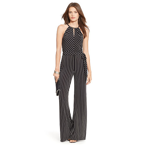 Striped Jersey Jumpsuit 85891986