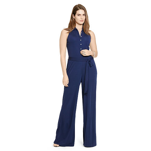 Jersey Wide Leg Jumpsuit 91019996