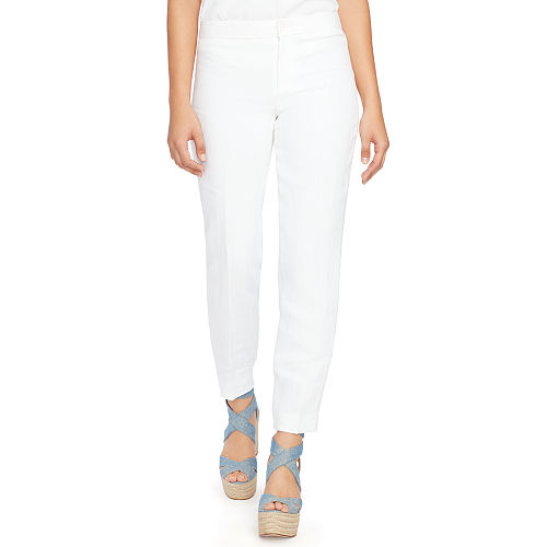Straight Fit Linen Pant 90495836