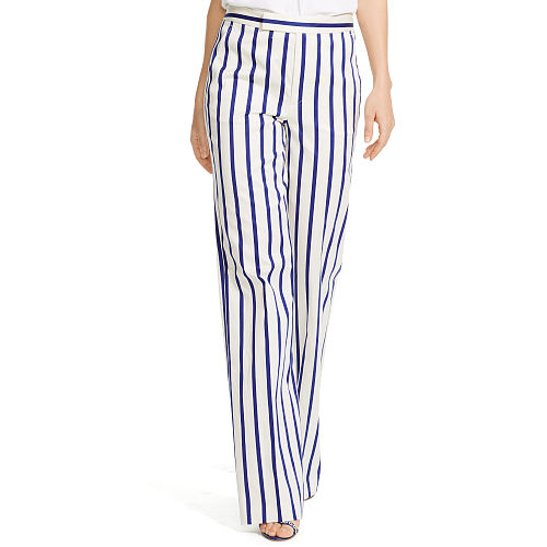 Striped Wide Leg Pant 90496736