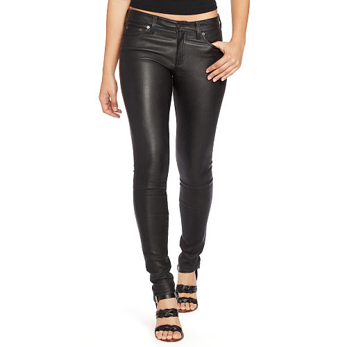 Stretch Leather Skinny Pant 91836786