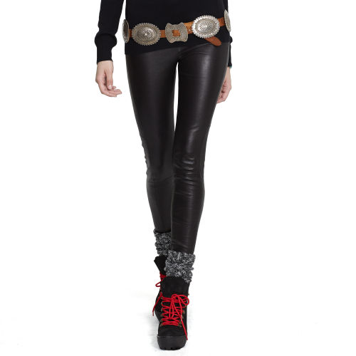 Skinny Stretch Leather Pant 47131266