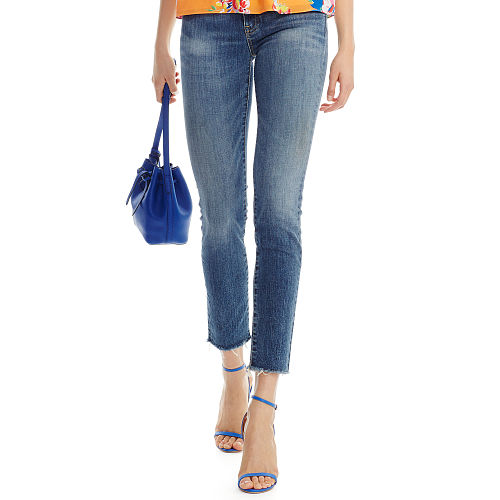 High Rise Cropped Jean 90495916