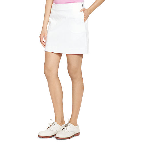 Stretch Cotton Skort 85081536