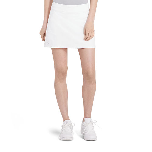 Pleated Back Jersey Skort 88339886