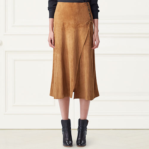 Aiden Suede Skirt 79164216
