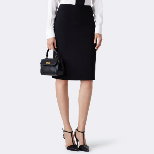 Cindy Wool Pencil Skirt 79459306