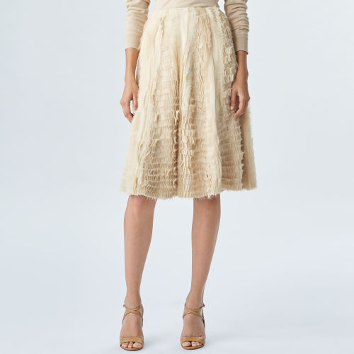 Sasha Silk Georgette Skirt 79459346