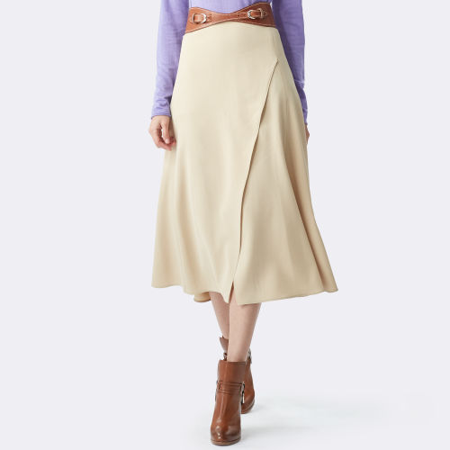 Aiden Stretch Wool Skirt 79458916