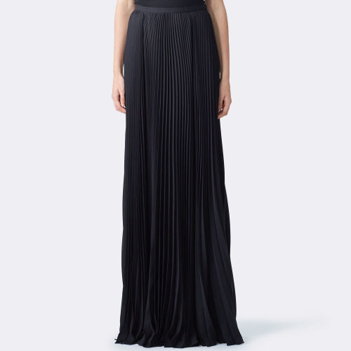 Eliza Pleated Chiffon Skirt 79459316