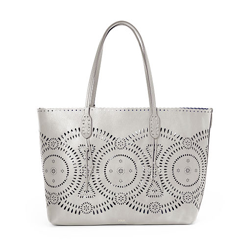 Laser Cut Leather Tote 88534056