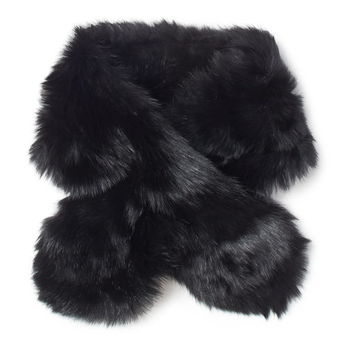 Shearling Pull Through Scarf 84540926