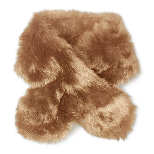 Shearling Pull Through Scarf 61894136