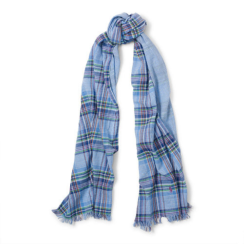 Double Faced Cotton Scarf 87041696