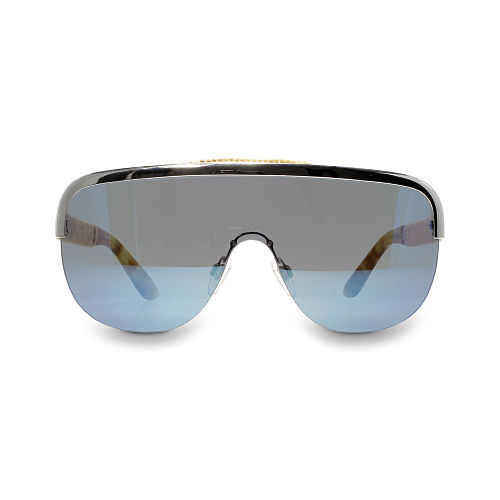 Woven Shield Sunglasses 87370126