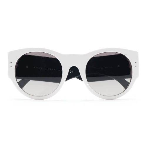 Greek Key Round Sunglasses 32800546